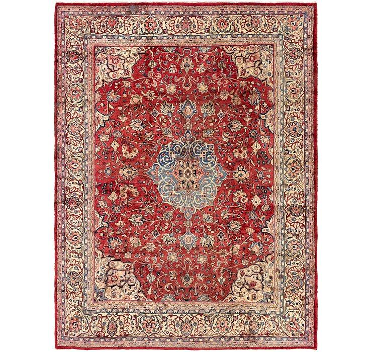 10' 4 x 13' 7 Meshkabad Persian Rug