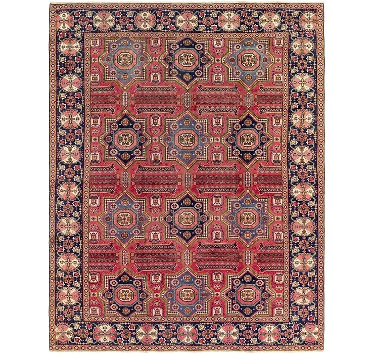 9' 6 x 12' 2 Tabriz Persian Rug