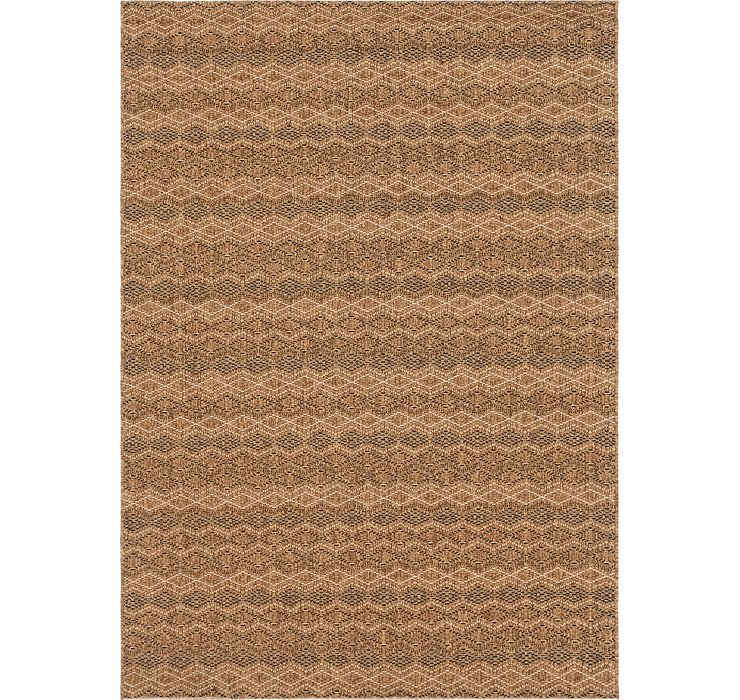 5' 2 x 7' 2 Outdoor Border Rug