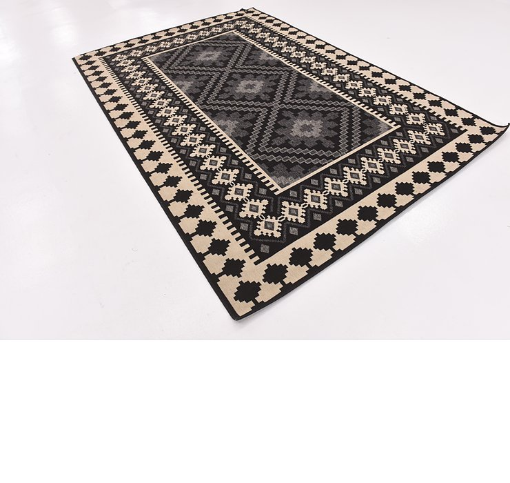 6' 6 x 9' 5 Outdoor Trellis Rug