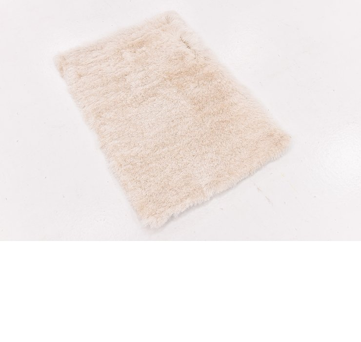 2' x 3' Luxe Solid Shag Rug