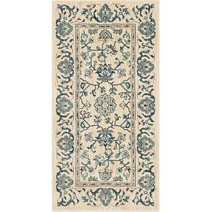 Link to 60cm x 122cm Kashan Design Runner Rug item page