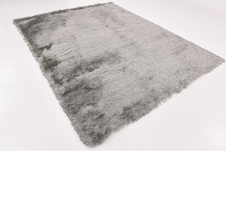 7' 10 x 10' Luxe Solid Shag Rug