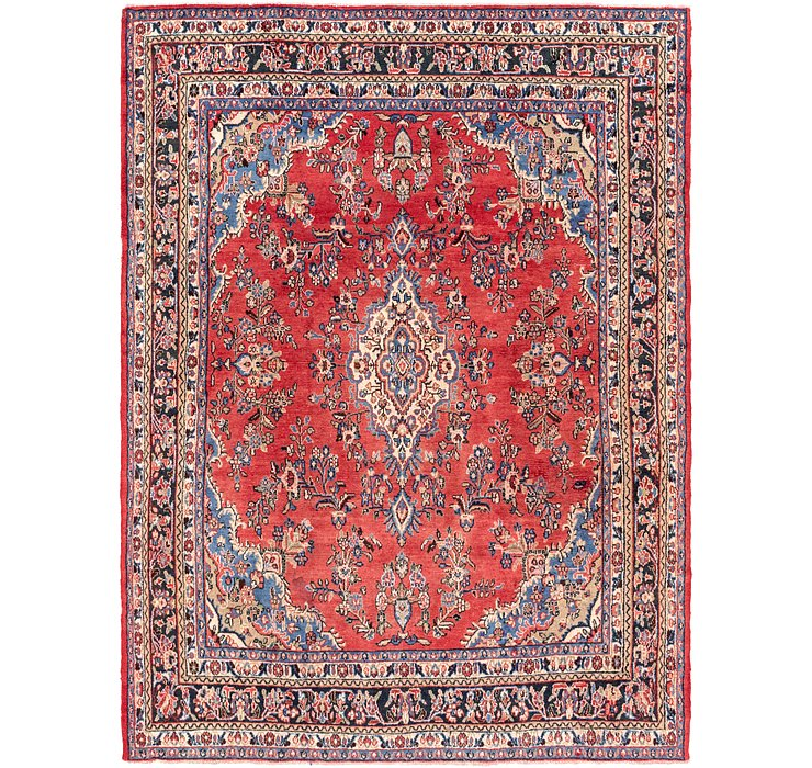 8' 7 x 11' 8 Shahrbaft Persian Rug