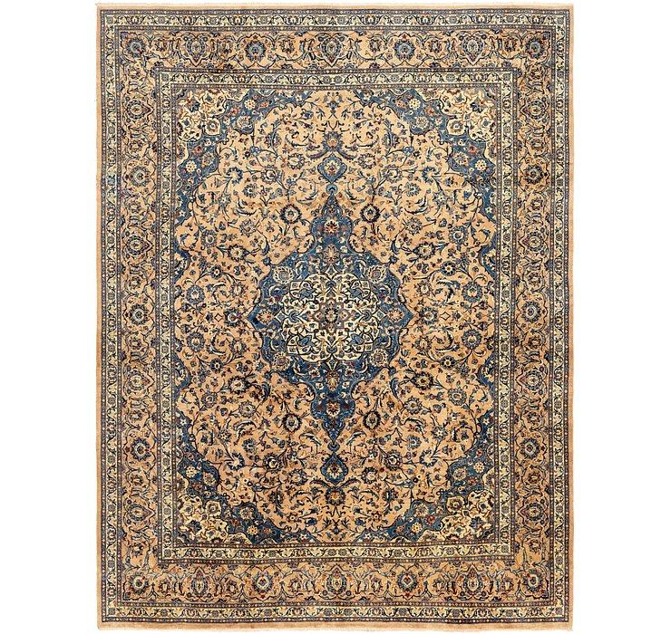9' 6 x 12' 4 Kashan Persian Rug