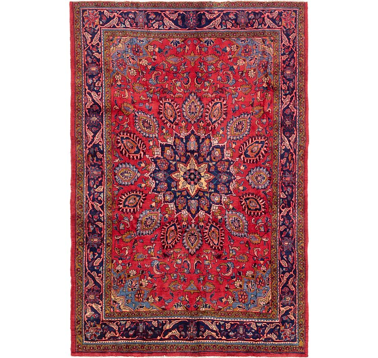 7' 2 x 10' 7 Golpayegan Persian Rug