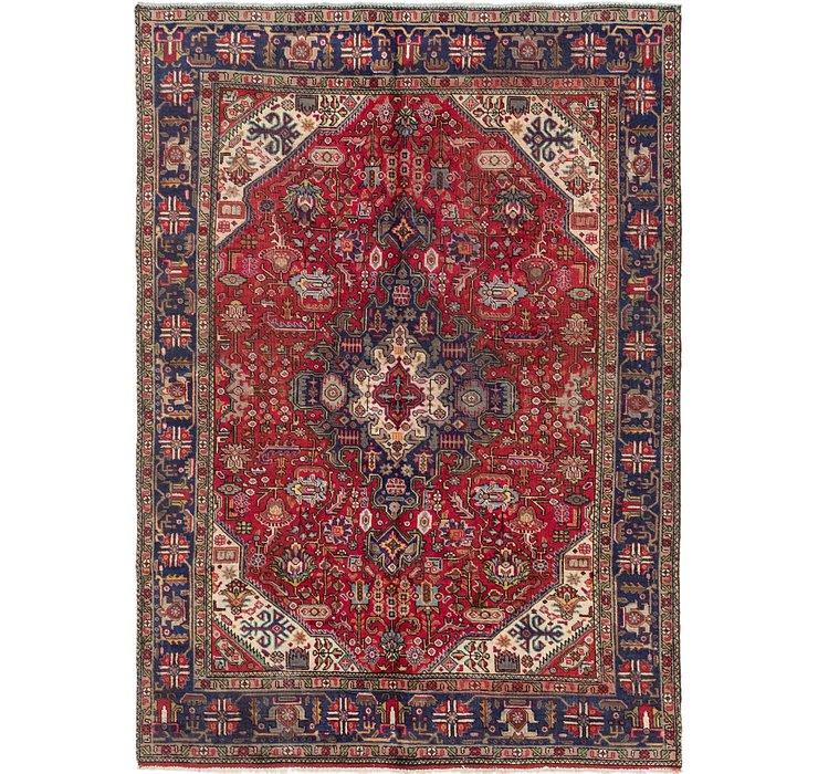 6' 6 x 9' Tabriz Persian Rug