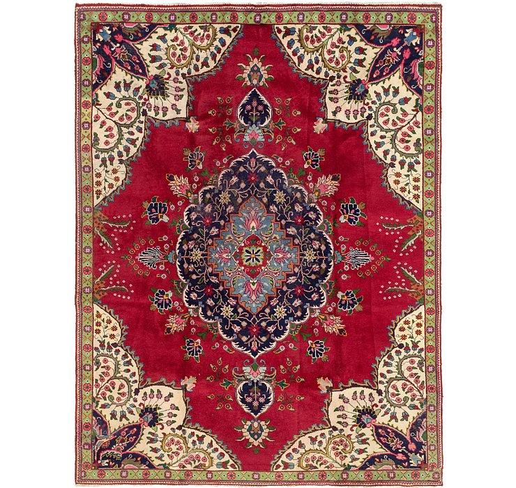 8' x 10' 6 Tabriz Persian Rug
