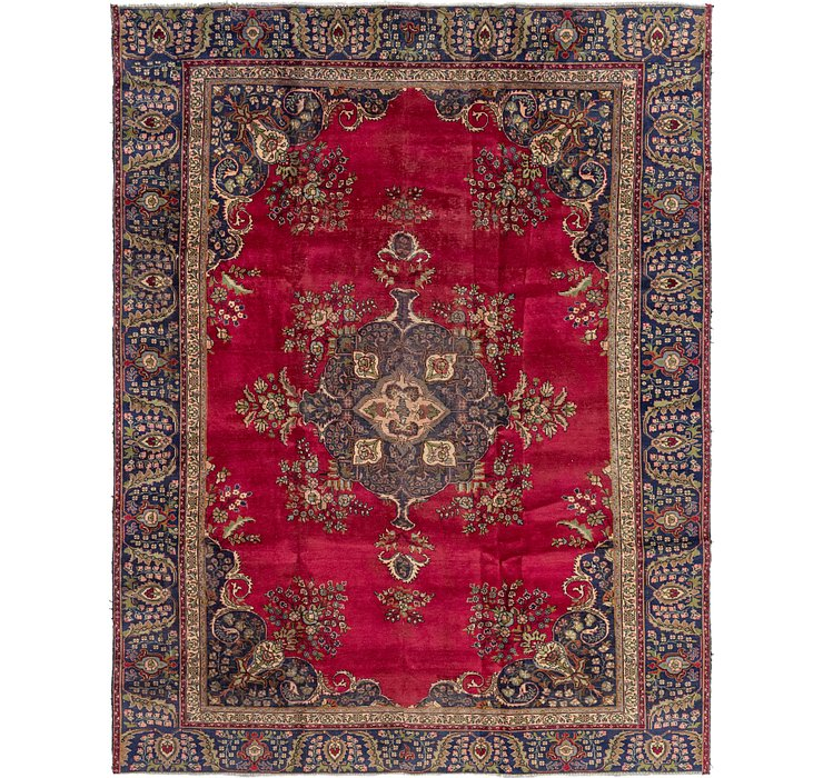 9' x 11' 8 Tabriz Persian Rug