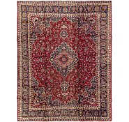 Link to 9' 5 x 12' Mashad Persian Rug