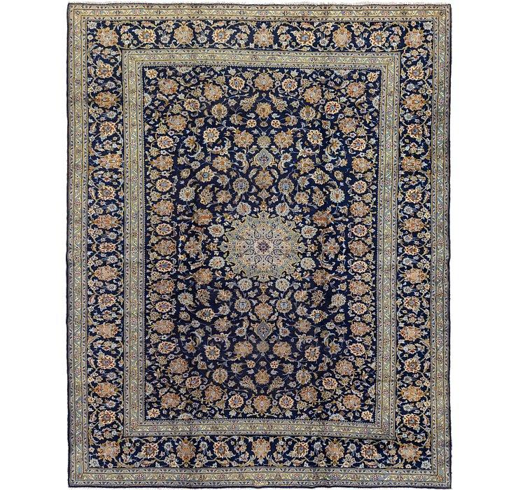 9' 9 x 12' 5 Kashan Persian Rug
