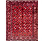 Link to 213cm x 257cm Torkaman Persian Square Rug