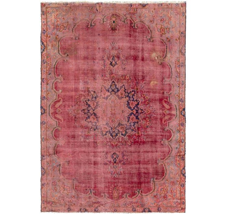 213cm x 323cm Tabriz Persian Rug