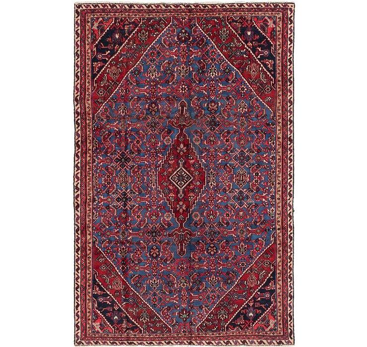 6' 6 x 10' Hamedan Persian Rug