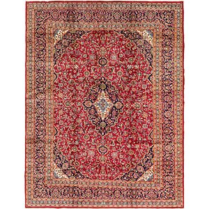 Link to 300cm x 390cm Mashad Persian Rug item page