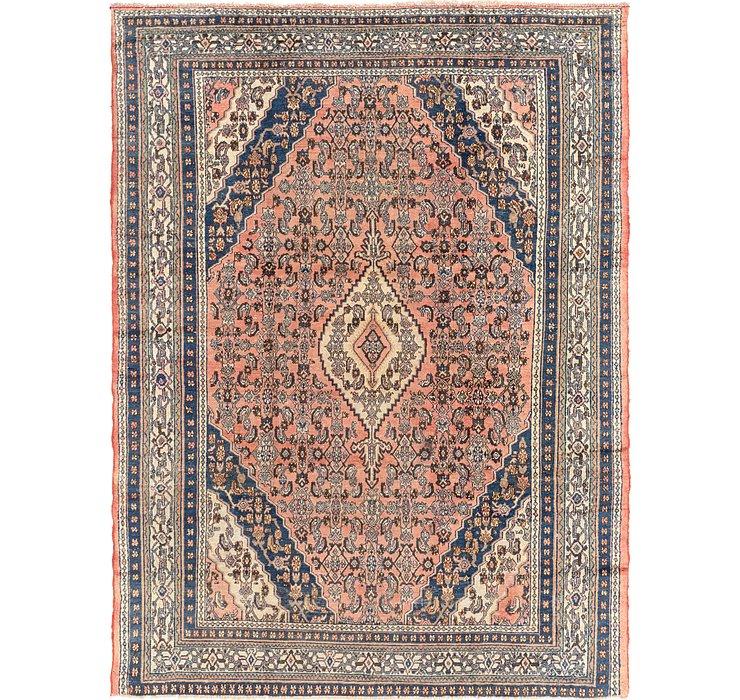 8' 10 x 11' 6 Hamedan Persian Rug