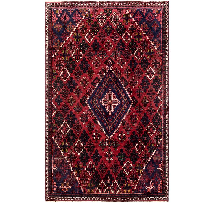 6' x 9' 6 Joshaghan Persian Rug