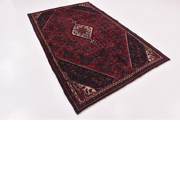 HandKnotted 5' 6 x 8' 9 Hamedan Persian Rug