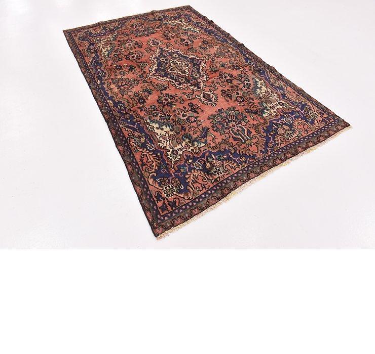 HandKnotted 5' x 8' Hamedan Persian Rug
