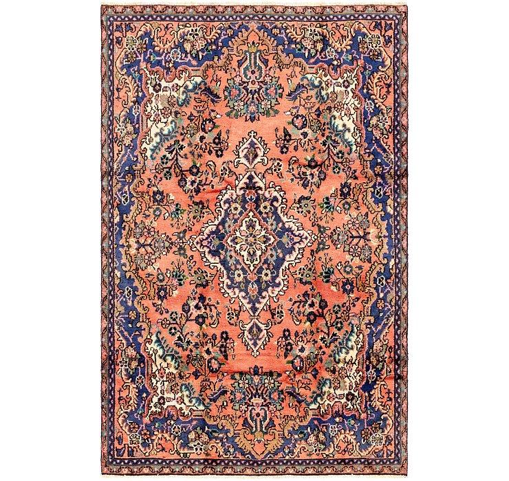 5' x 8' Hamedan Persian Rug