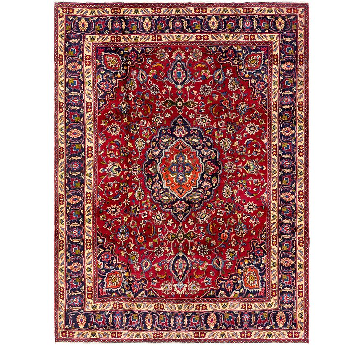 9' 2 x 12' 3 Mashad Persian Rug