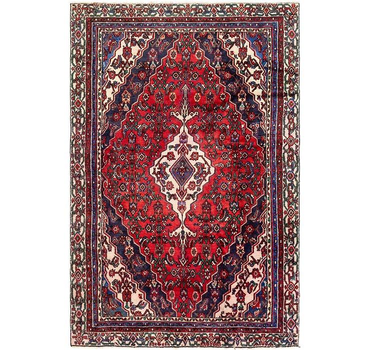 5' 8 x 8' 9 Hamedan Persian Rug