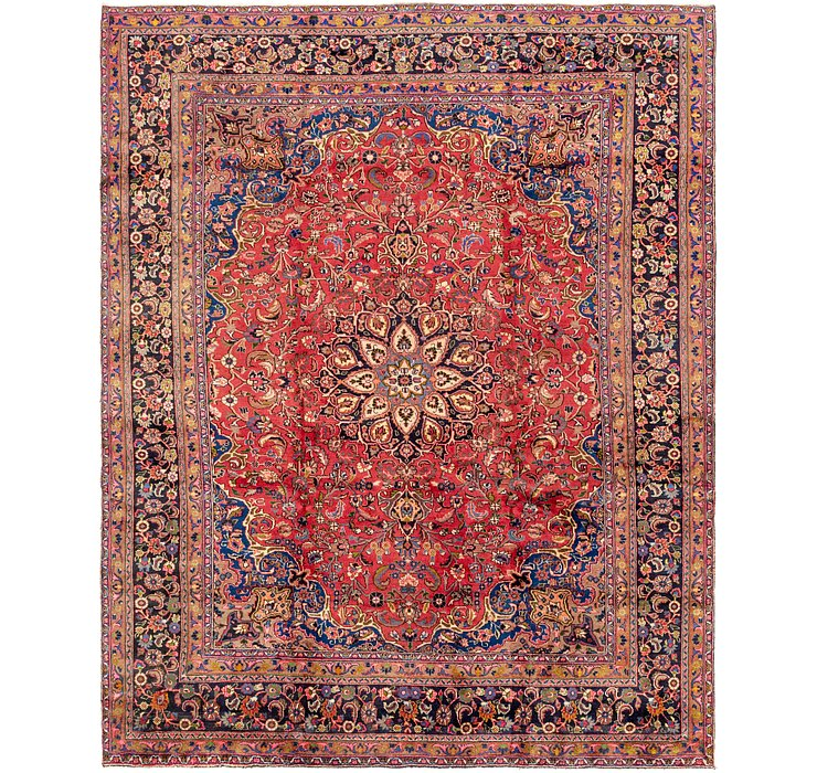 9' 5 x 12' Mashad Persian Rug