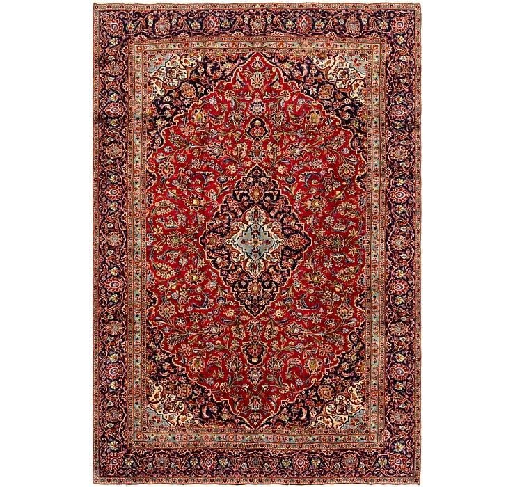 7' 4 x 10' 10 Kashan Persian Rug