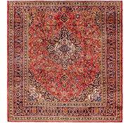 Link to 300cm x 318cm Mashad Persian Square Rug