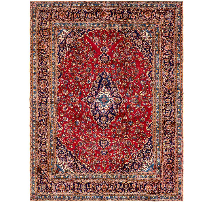 287cm x 378cm Kashan Persian Rug