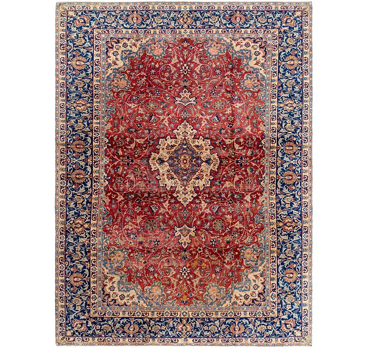 9' 5 x 12' 10 Isfahan Persian Rug
