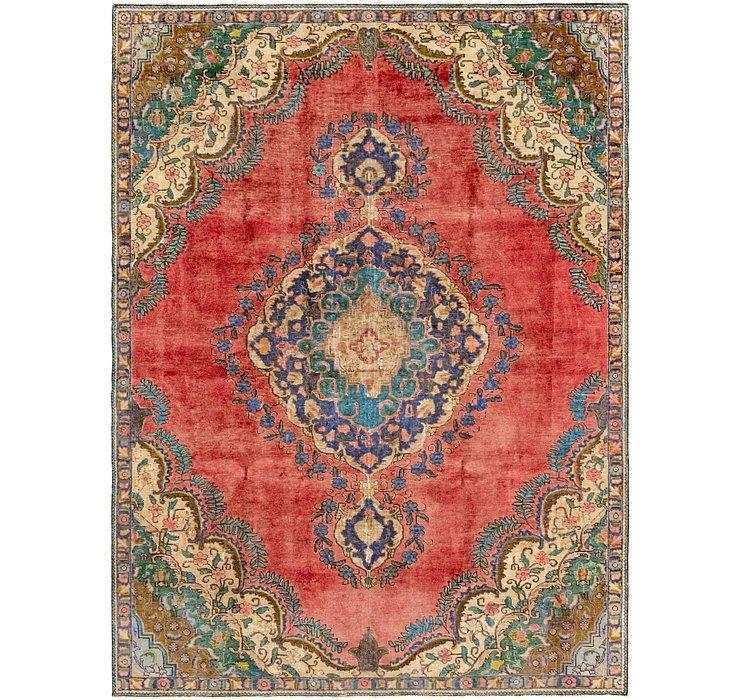 7' 4 x 9' 10 Tabriz Persian Rug