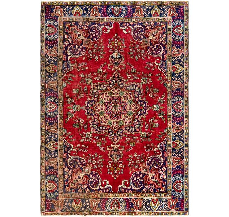 6' 6 x 9' 6 Tabriz Persian Rug