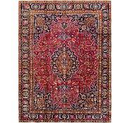 Link to 8' 10 x 12' Mashad Persian Rug