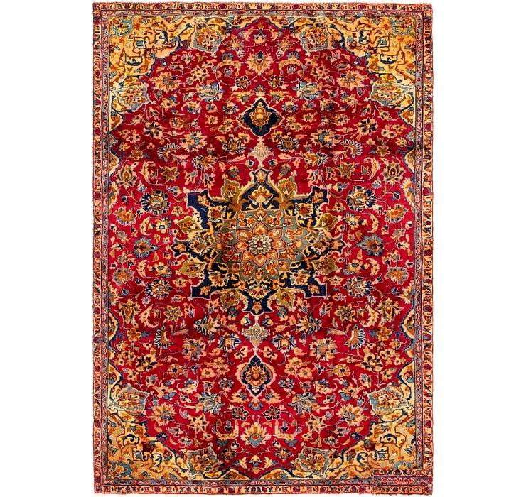 6' x 8' 9 Isfahan Persian Rug
