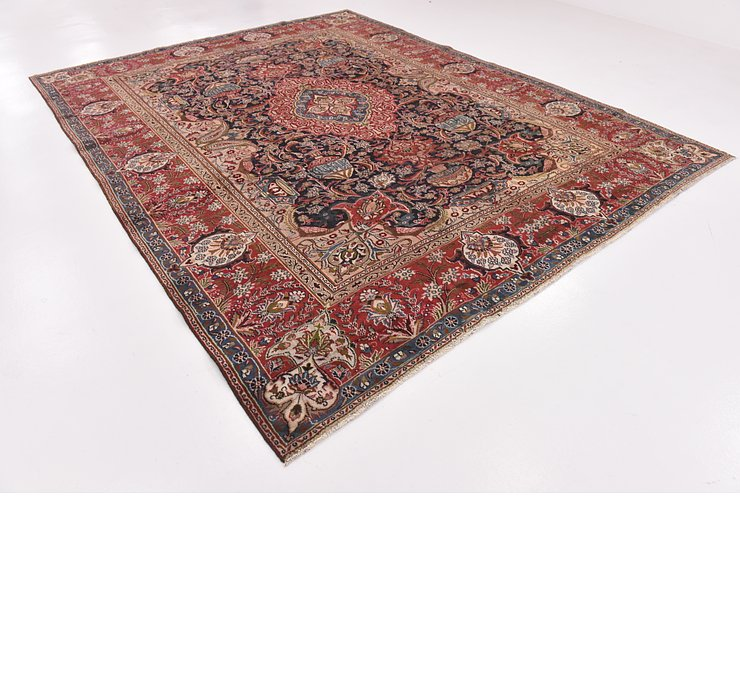 HandKnotted 9' 6 x 12' 3 Kashmar Persian Rug