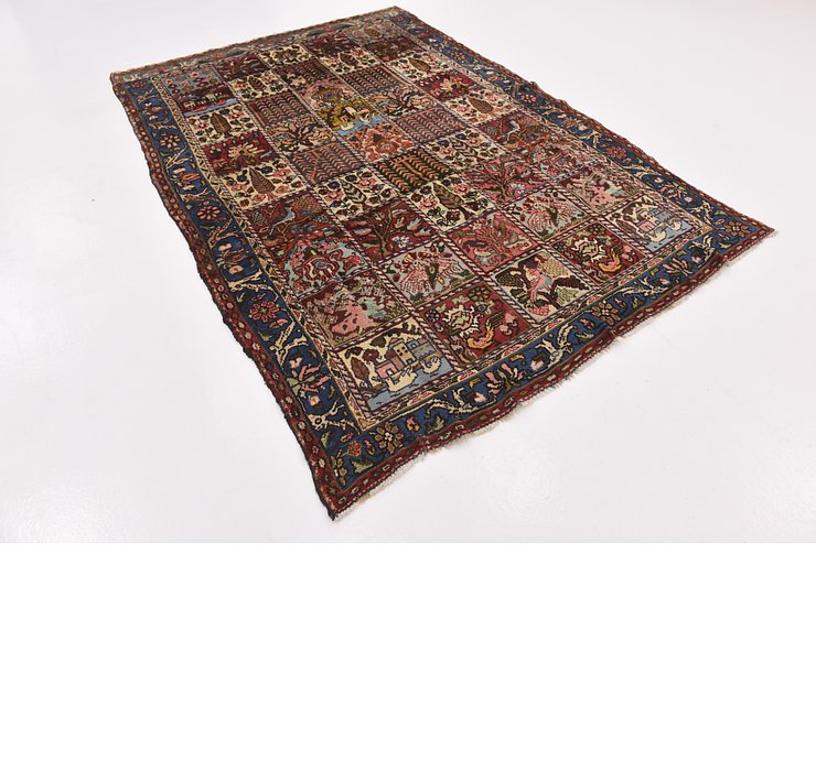 HandKnotted 6' x 8' 5 Bakhtiar Persian Rug