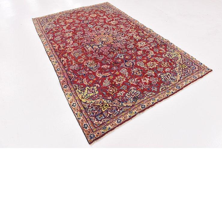 HandKnotted 5' 7 x 8' 8 Isfahan Persian Rug