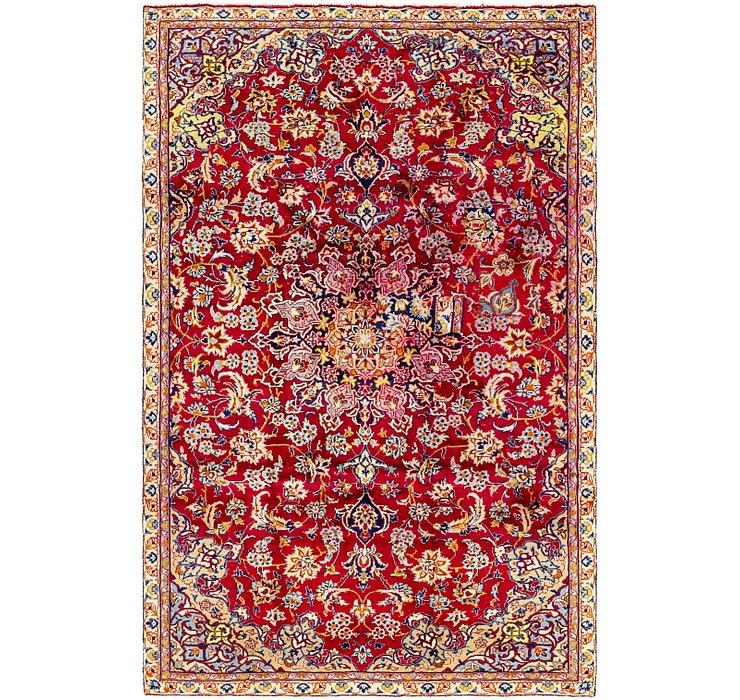 5' 7 x 8' 8 Isfahan Persian Rug
