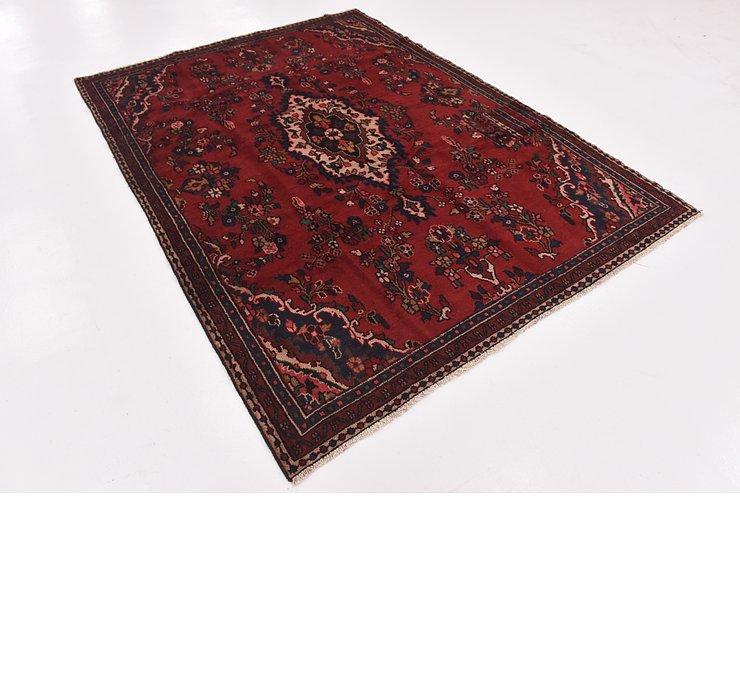 HandKnotted 6' x 8' 6 Hamedan Persian Rug