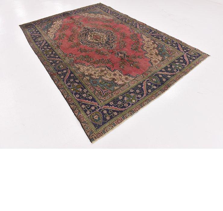 HandKnotted 6' 6 x 9' 6 Tabriz Persian Rug