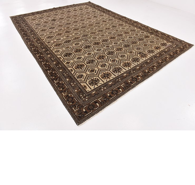 HandKnotted 8' 6 x 12' 6 Ferdos Persian Rug