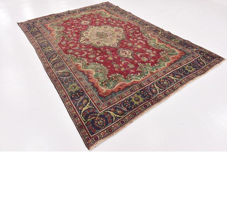 HandKnotted 7' 2 x 10' 8 Tabriz Persian Rug