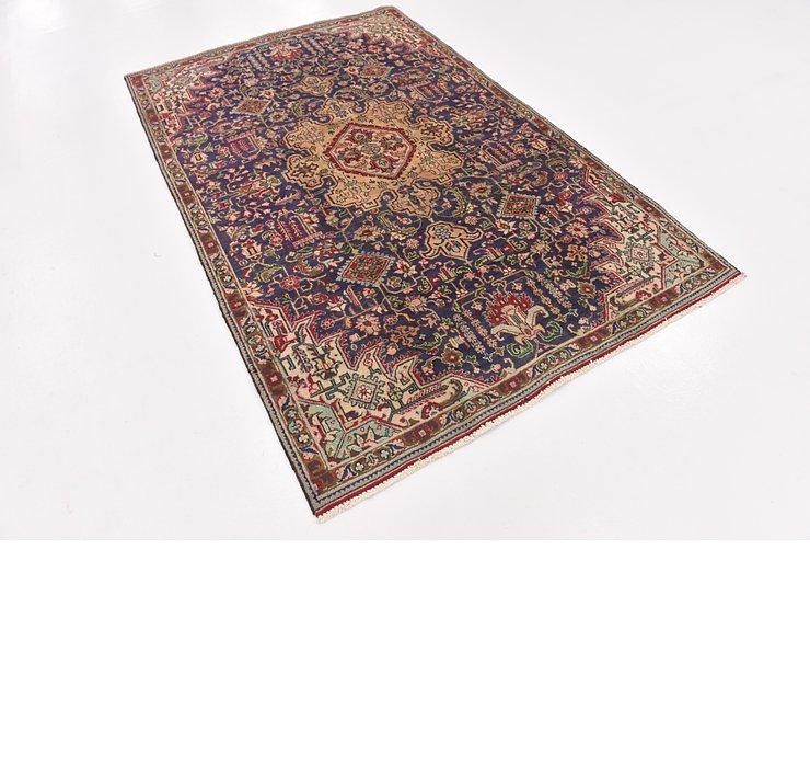 HandKnotted 4' 10 x 7' 8 Tabriz Persian Rug