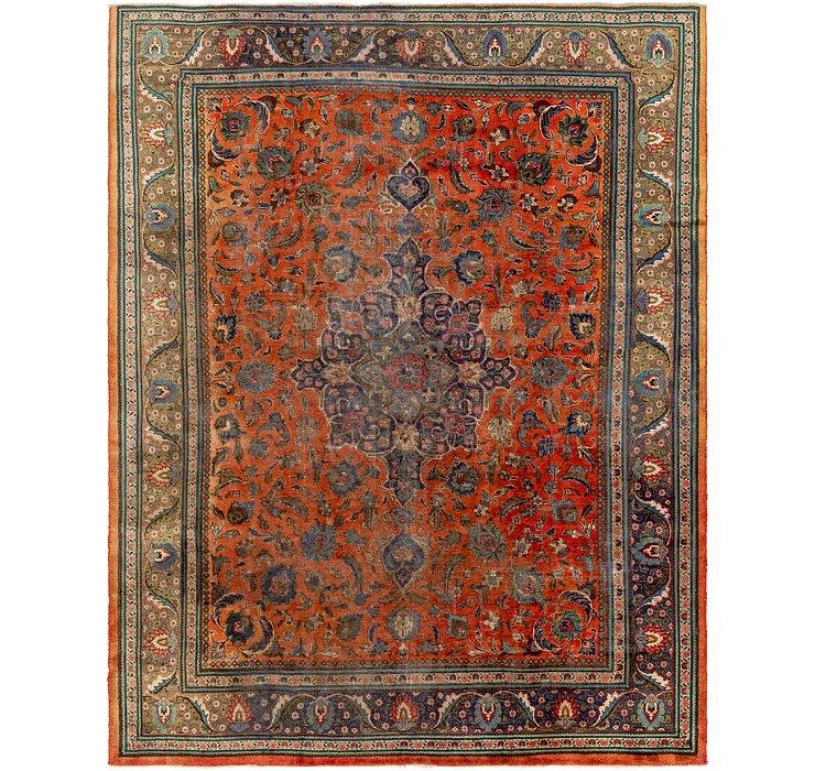 10' 3 x 12' 10 Tabriz Persian Rug