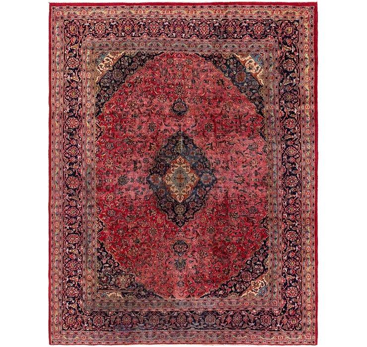 9' 8 x 12' Mashad Persian Rug