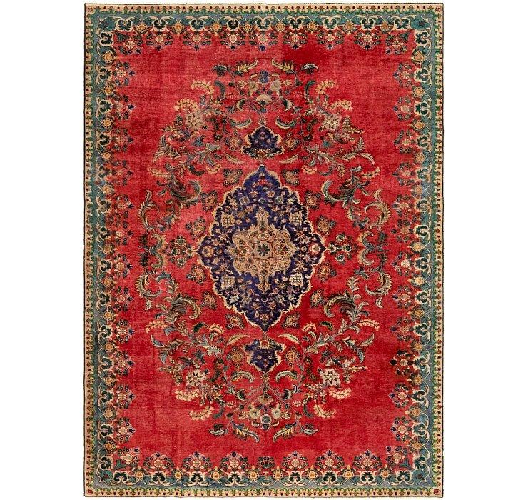 7' 2 x 10' Tabriz Persian Rug