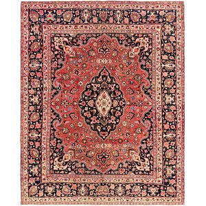 Link to 305cm x 378cm Mashad Persian Rug item page