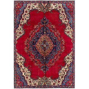 6' 4 x 9' 6 Tabriz Persian Rug