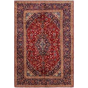 Link to 200cm x 305cm Mashad Persian Rug item page
